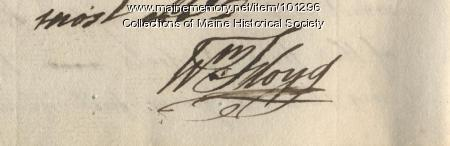 William Floyd signature, May 9, 1776