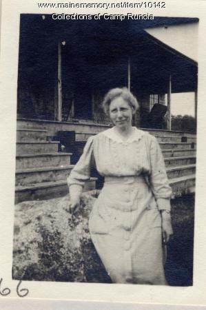 Lucy Weiser, Camp Runoia, 1915