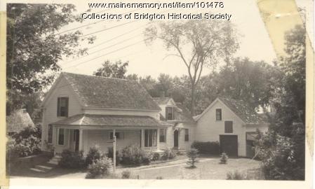 8 Cottage Street, Bridgton, ca. 1938
