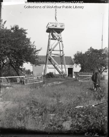 """Winthrop Tower,"" ca. 1910"