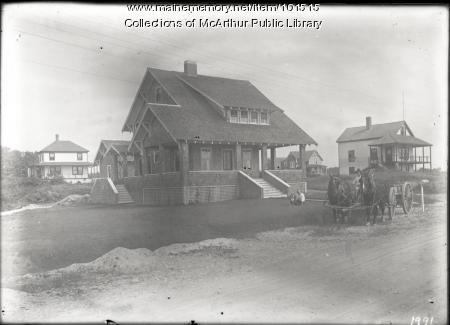 Bascom Cottage, Fortune's Rocks, 1917