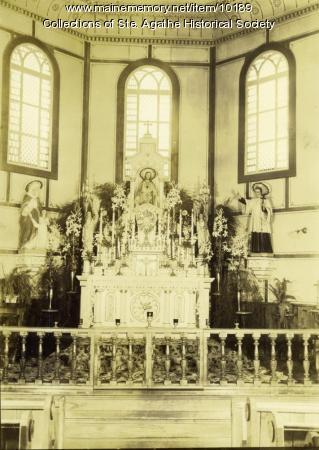 Daughters of Wisdom Convent Chapel, St. Agatha, ca. 1910