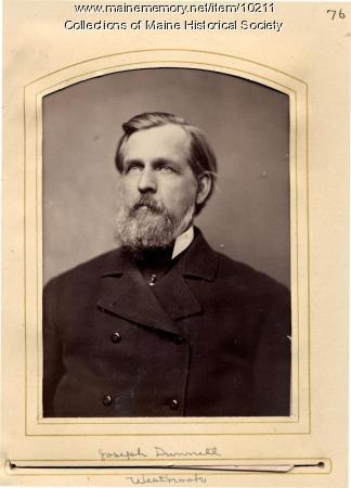 Joseph Dunnell, Westbrook, 1880