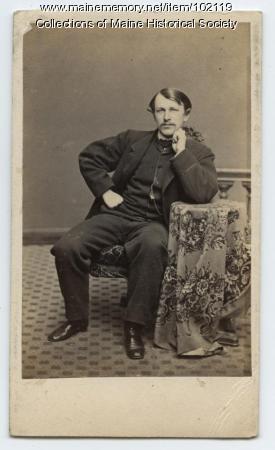 John Marshall Brown, Portland, ca. 1870