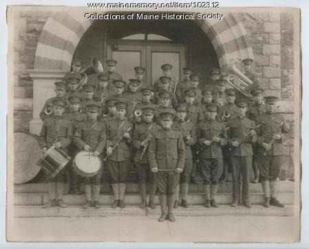 University of Maine Cadet band, Orono, ca. 1916