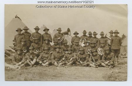 U.S. Army band, Laredo, Texas, 1916
