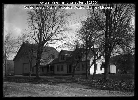Stanley homestead, Kingfield, ca. 1910
