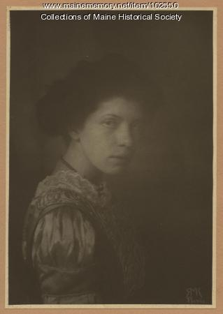 Mildred Burrage, ca. 1910