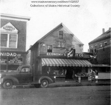 Economy's Market, Rockland, ca. 1935