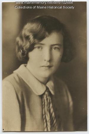 Agnes Kerr, Portland, 1924