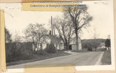 Smith House, West Bridgton, ca. 1938