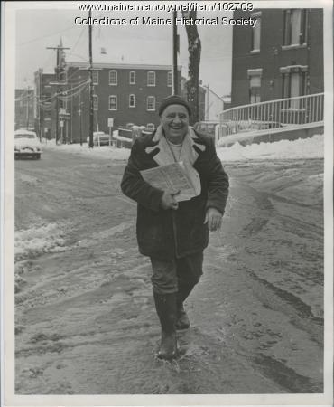 Popkins Zakarian on Center Street, Portland, 1973