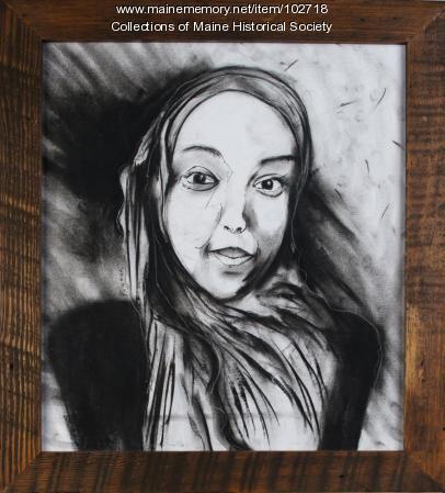 """Portrait of Hawa"" Mainer project, Portland, 2016"