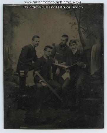 John Calvin Stevens, Charles E.B. King, William Lowell, Portland, ca. 1885