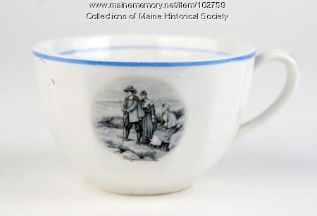 Longfellow tea set cup, ca. 1900