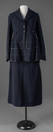 Ruth True's afternoon suit, ca. 1920