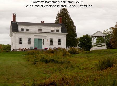 Cornelius Tarbox, Jr. House, Westport Island, 2016