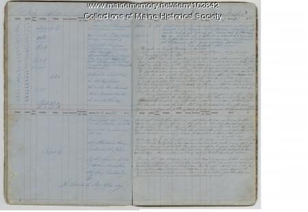 Remarks on board the Julia E. Arey, 1860