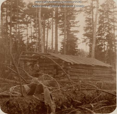 Tremblay and Kennedy Camp, Ragged Lake, 1898