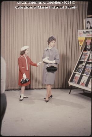 Freeport High School students on The Dave Astor Show, Portland, 1962