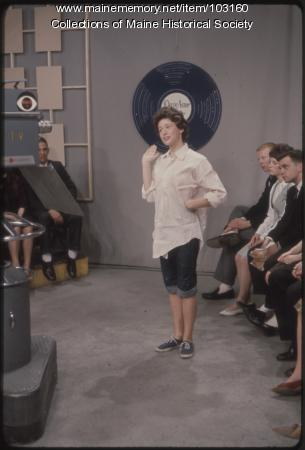 Lorraine Edwards on The Dave Astor Show, Portland, 1962