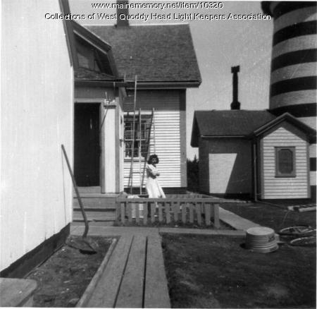 Carolyn Gray, West Quoddy Head Lighthouse, ca. 1942
