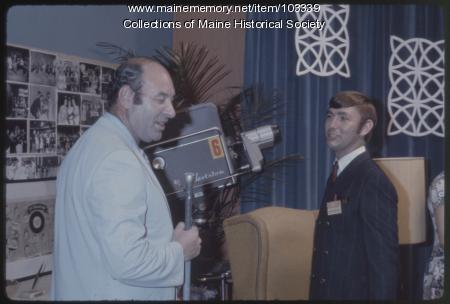 Dave Astor and Roger McKinney on the final episode of The Dave Astor Show, Portland, 1971
