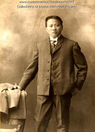 Chinese Sunday School student, Augusta, c. 1890