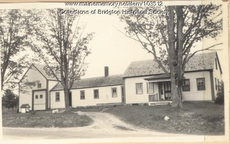 Card 2689 West Bridgton photo, ca. 1938