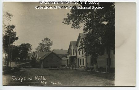 William Achorn house, Coopers Mills, Whitefield, ca. 1910