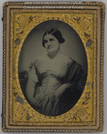 Julia Clapp Carroll, ca. 1855