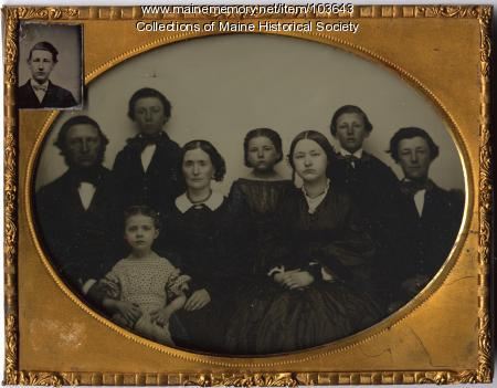 Family portrait, ca. 1862