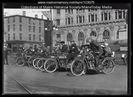 Motorcycle race, Portland, ca. 1920
