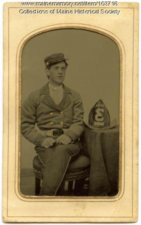 Fireman, Bangor, ca. 1865