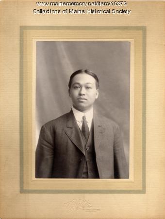 Chinese man, Portland, ca. 1910