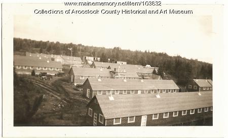 Civilian Conservation Corp camp buildings, ca. 1937