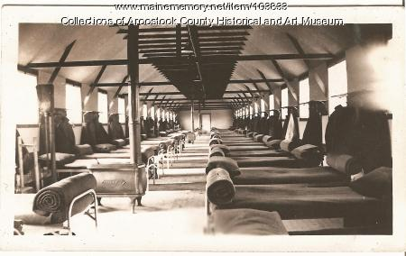 Civilian Conservation Corp camp bunk house, ca. 1937