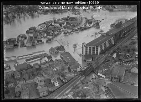 Biddeford flood, 1936