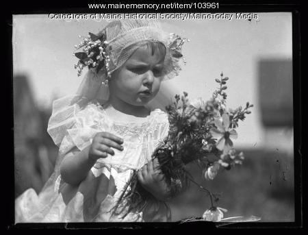 Claire Bowden's daughter, Portland, 1926