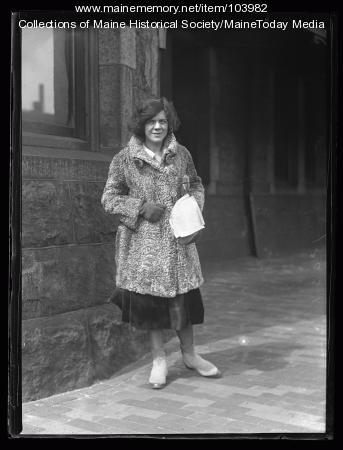 Conductor Ethel Leginska, Portland, 1927