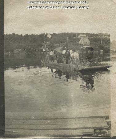Medway Ferry, ca. 1900