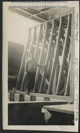"""Vonn """"John"""" Volmer, Millinocket, ca. 1913"""