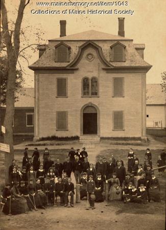 Eaton School, N.H.S. Building ca. 1900