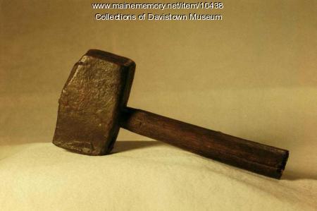 Primitive iron hammer