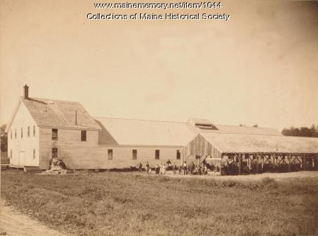 Cannery 9, Burnham and Morrill Co., 1887