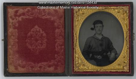 James Davis of the 9th Maine Regiment, ca. 1863