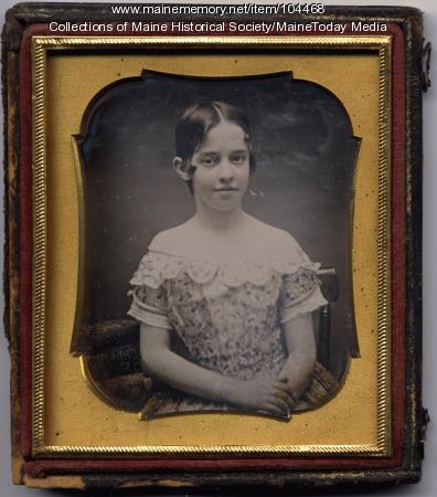 Sarah Sullivan Richards, Gardiner, ca. 1853