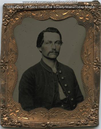 George Follett of New Sharon, ca. 1865