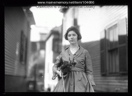 Ruth Flanders, April 1920