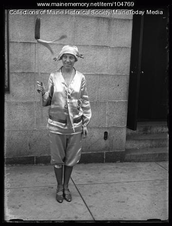 Archy Marshall at the NFBPWC convention, Portland, 1925